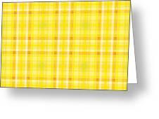 Yellow N.4 Greeting Card