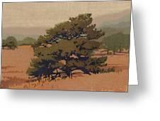 Yellow Pine Greeting Card