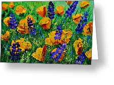 Yellow Poppies 560190 Greeting Card