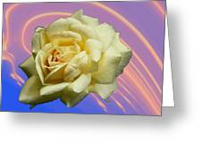 Yellow Rose 3 Greeting Card