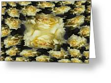 Yellow Roses 2 Greeting Card