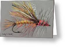 Yellow Sally Stonefly Greeting Card