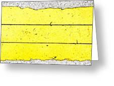 Yellow Stone Greeting Card