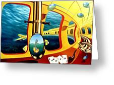 Yellow Submarine Greeting Card