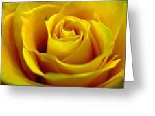 Yellow Tea Greeting Card
