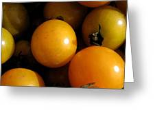 Yellow Tomatoes Greeting Card