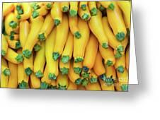 Yellow Zucchini Greeting Card