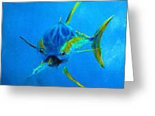 Yellowfin Tuna Three Greeting Card