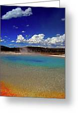 Yellowstone Blues Greeting Card