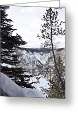 Yellowstone Canyon Greeting Card