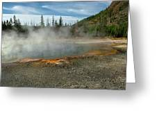 Yellowstone Colors #5 Greeting Card