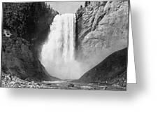 Yellowstone: Grand Falls Greeting Card