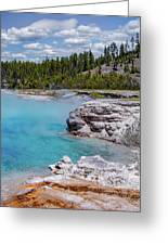 Yellowstone Grand Prismatic Spring Greeting Card