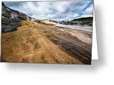 Yellowstone Hot Springs Greeting Card