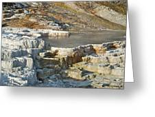 Yellowstone Mineral Features 3 Greeting Card