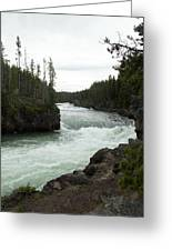 Yellowstone River Greeting Card