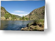 Yellowstone Serenity   Greeting Card