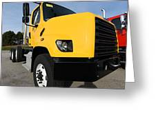 Yellowtruck Greeting Card