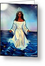 Yemaya- Mother Of All Orishas Greeting Card