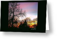 Yesterday's Sky Greeting Card