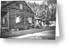 Yesteryear Old Slave Quarters Greeting Card
