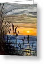 Yet Another Sunset Greeting Card