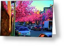 Yew Street Spring Greeting Card