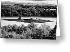Ynys Gored Goch Island In The Menai Strait North Wales Uk Greeting Card
