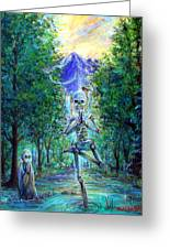 Yoga Tree Greeting Card