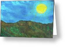Yokun Ridge Greeting Card