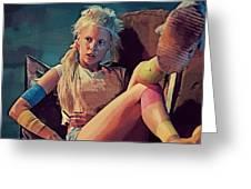 Yolandi Visser - Chappie Greeting Card