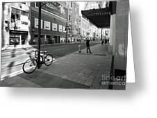 Yonge And Queen In Toronto Greeting Card