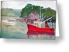 York Harbor Greeting Card