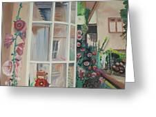 York Window Greeting Card