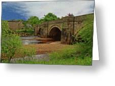 Yorkshire Bridge - P4a16015 Greeting Card