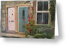 Yorkshire Cottages Greeting Card