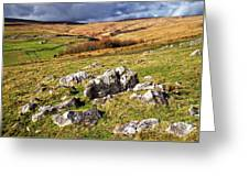 Yorkshire Dales Limestone Countryside Greeting Card