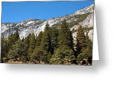 Yosemite 2 Greeting Card