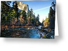 Yosemite Afternoon Greeting Card