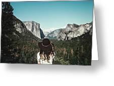 Yosemite Awe Greeting Card