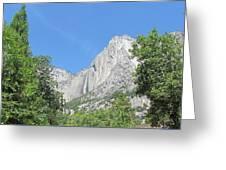 Yosemite Falls Again Greeting Card