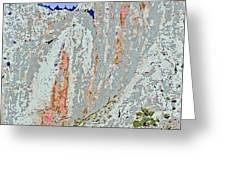 Yosemite Falls Drought Greeting Card