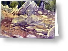 Yosemite Granite Greeting Card