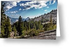 Yosemite Half Dome 0796 Greeting Card