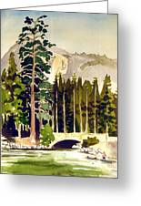 Yosemite II Greeting Card