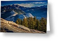 Yosemite Morning Greeting Card