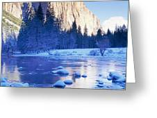 Yosemite National Park, California Greeting Card