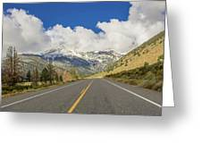 Yosemite Park Greeting Card