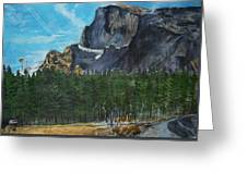 Yosemite Political Statement Greeting Card