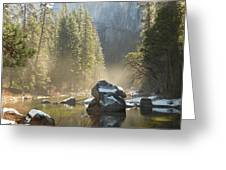 Yosemite Spring Greeting Card